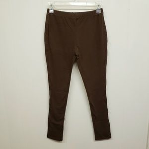 NEW! Brown Cotton Leggings
